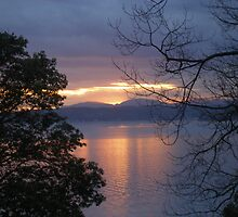 A BEAUTIFUL WINTERS SUNSET by MsLiz