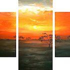 Serengeti Sunset by Cherie Roe Dirksen