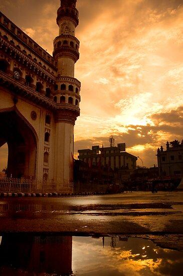 Charminar by Aurobindo Saha
