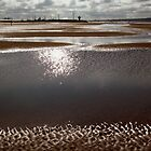 Low Tide at Crosby Beach by Martin Woods