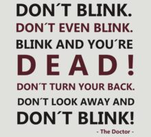DON´T BLINK by ParkLeeya