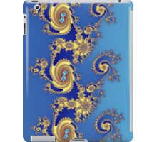 Fractal in Blue & Gold   iPad Case/Skin