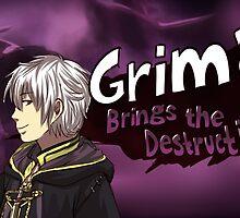 Grima Brings the Destruction! by MilkAlpaca