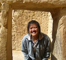 Laurie at Cliff Palace by Laurie Puglia