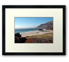 Coastal Tranquility Framed Print
