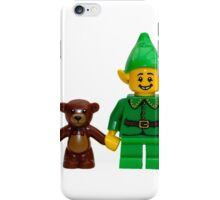 LEGO Elf with Teddy Bear iPhone Case/Skin