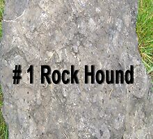 Number One Rock Hound Card by Jonice