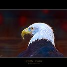 """Eagle Aura"" (Bald Eagle) by Skye Ryan-Evans"