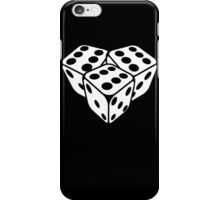 666 dice iPhone Case/Skin