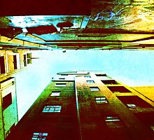 Looking Up - Centre Place by AnnieD