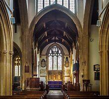 St Cyriac Church Lacock by mlphoto