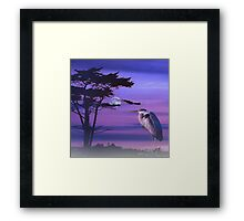 The Argument of the Earth Framed Print