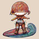 Malibu Missy TShirt by © Karin  Taylor