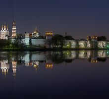 Novodevichy Convent - night HDR photo by Alexey Kljatov