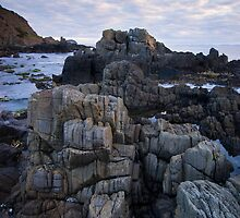 Rock Stacks, Tasman Peninsula by NickMonk