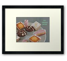 Cake Variety for Someone Special Framed Print