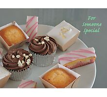 Cake Variety for Someone Special Photographic Print