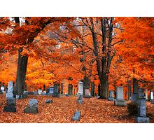 Cemetery Color Photographic Print