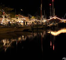 #620  The Marina At Night by MyInnereyeMike