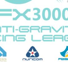 WipEout - FX3000 League Sticker