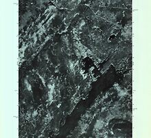 Maine USGS Historical Map Indian Pond North 806778 1977 24000 by wetdryvac