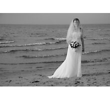 Alicia Wedding Beach Shoot Photographic Print