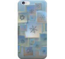 Snowflake collage - Bright crystals 2012-2014 iPhone Case/Skin