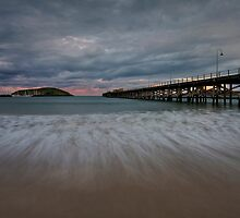 Coffs Harbour Jetty by Mark Snelson