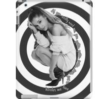 Love Me Harder iPad Case/Skin
