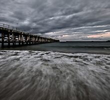 Storm Clouds Over Coffs by Mark Snelson