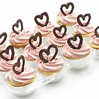 Valentine Cupcakes by tali