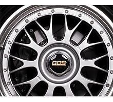 Racing car alloy wheel Photographic Print