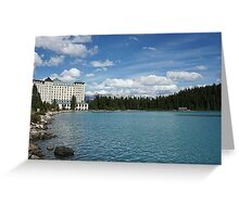 The Fairmont Chateau Lake Louise Greeting Card