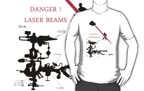 DANGER ! Laser Beams by MuscularTeeth