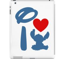 I Heart Stitch (Inverted) iPad Case/Skin