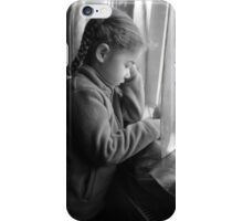 waiting for daddy iPhone Case/Skin