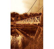 """""""The Swing Bridge"""" Photographic Print"""