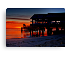 """Daybreak at Barwon Heads"" Canvas Print"
