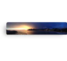 Ipanema Sunset Canvas Print