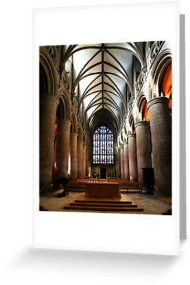 Gloucester Cathedral by Anthony Thomas