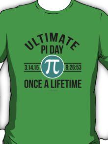 Ultimate Pi Day 2015 Aqua T-Shirt