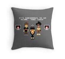 The Legend of Jen Throw Pillow
