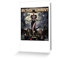 In this moment Black Widow Spider Greeting Card
