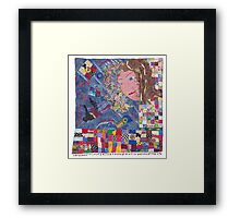 Self Reflections Framed Print