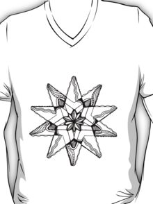 Star Tangles 3 Black - an Aussie Tangle by Heather - See Description Note for Colour Options T-Shirt