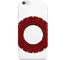 ring-o-t-shirts black and red iPhone Case/Skin
