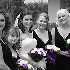 Bridesmaids Selective in Colour by KeepsakesPhotography Michael Rowley
