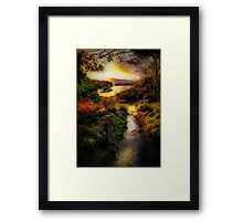 Killarney Lake Path Framed Print