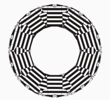 ring-o-t-shirts black and white  Kids Clothes