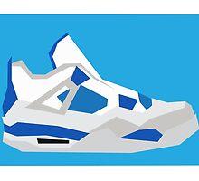AJ4 - Minimal Sneaker by lomoco